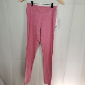 Womens pink leggings soft size small ( NWT)